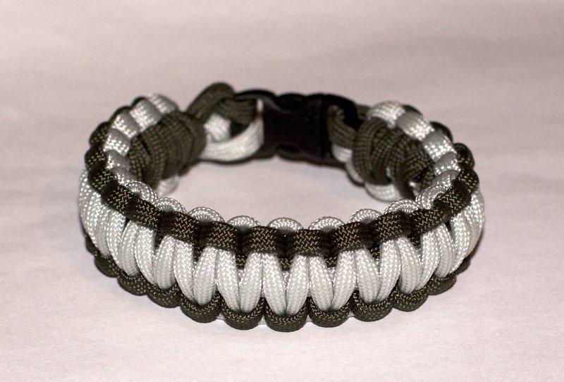 Мужской браслет из шнурка своими руками